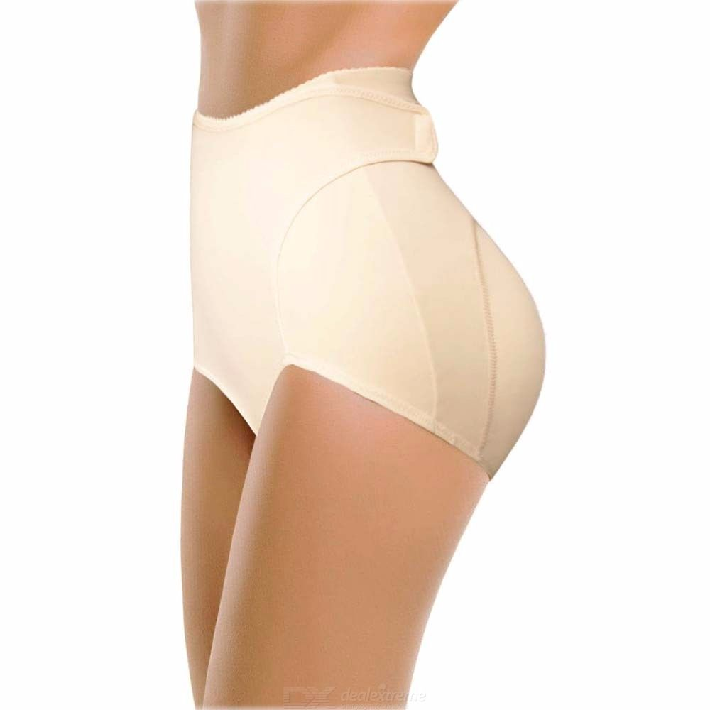 Womens Stretchy Tummy Controle Shaper, Hoge Compressie Opgevulde Butt Lifter Voor Vrouwen