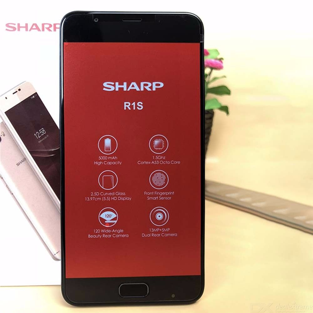 SHARP R1S FS8028 5.5 Inch Smartphone Octa Core 13MP Camera 3GB RAM 32GB ROM Global Version