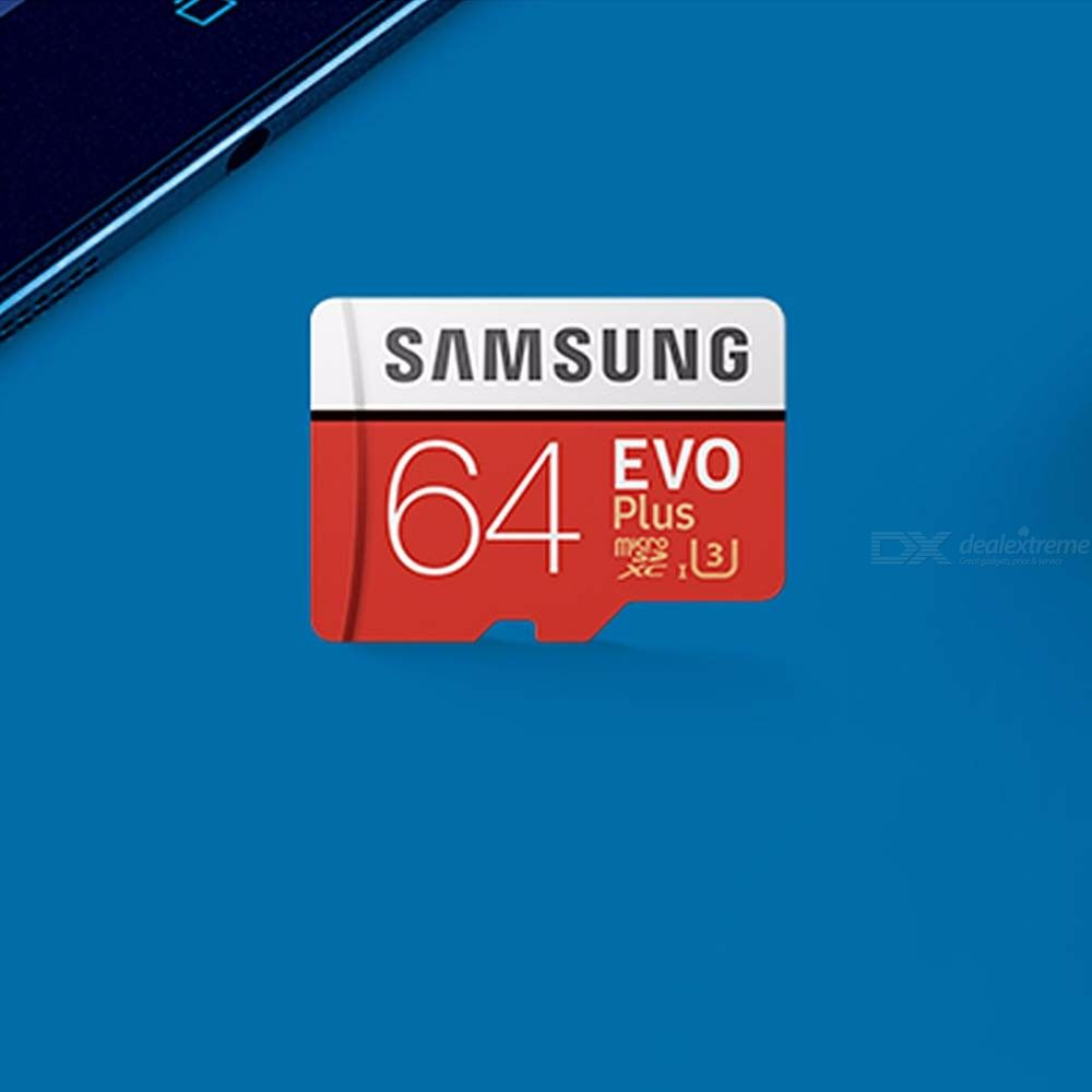 Samsung-EVO-Plus-Micro-SD-Card-HC-USH-1-U3-64GB-Class10-FHD-100MS