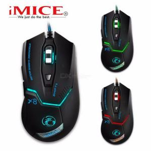 IMICE X8 2400DPI LED Optical 6D USB Wired Gaming Mouse For PC Computer Laptop