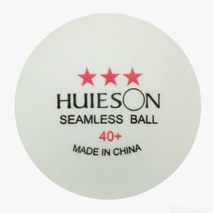 Huieson 30PCS/Bag Standard 3 Star ABS Plastic Ping Pong Balls 40+ Table Tennis Poly Balls For Adult Competition Training