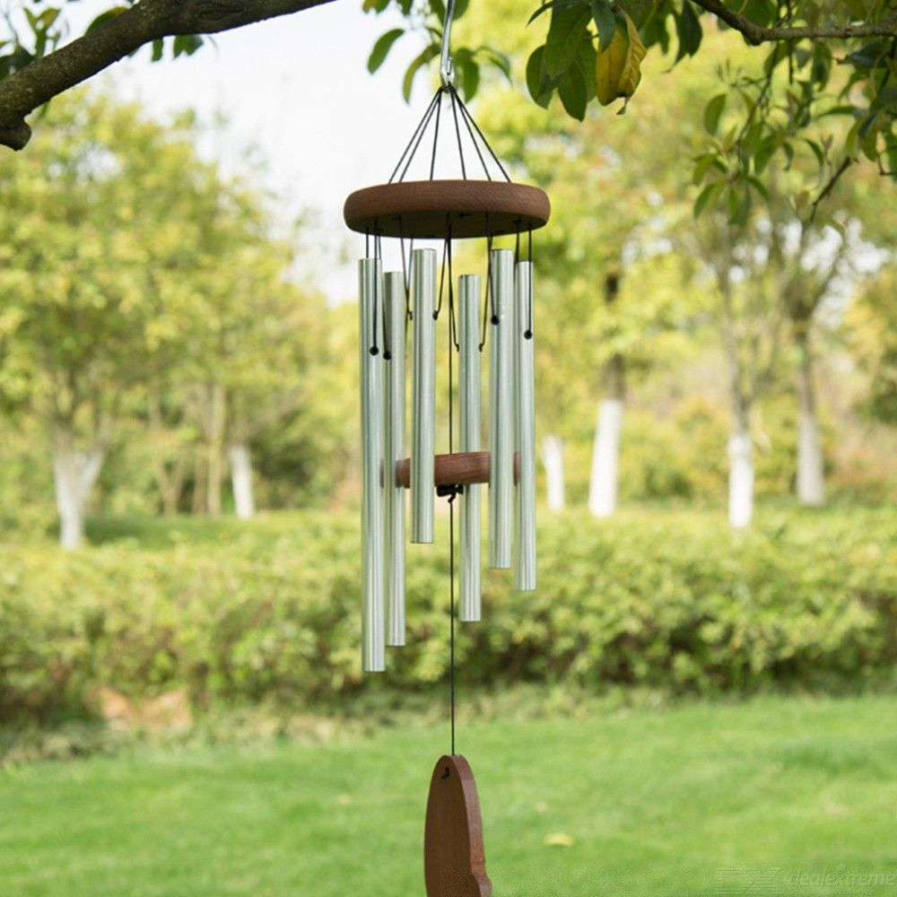 Metal-Wood-Wind-Chimes-Yard-Garden-Window-Bells-Wall-Home-Hanging-Decorations