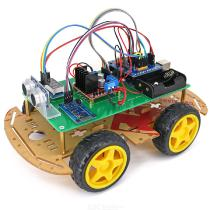 4WD-Bluetooth-Controlled-Smart-Robot-Car-Kit-for-Arduino