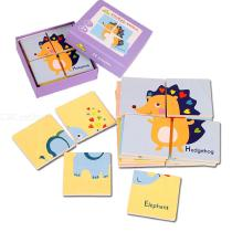 24PCS-Educational-Wooden-Pegged-Puzzles-For-Toddler-Cartoon-Learning-Jigsaw-Set