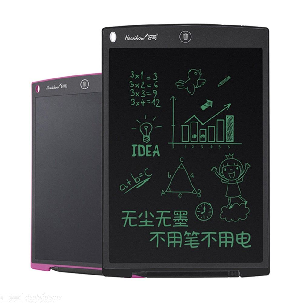 Howshow 12 Inch LCD Electronic Tablet E-Note Paperless Writing Tablet