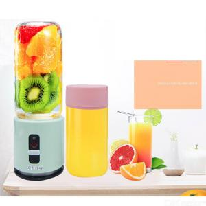 380ml Portable Mini Electric Juicer Cup USB Rechargeable Fruit Mixer Blender Machine