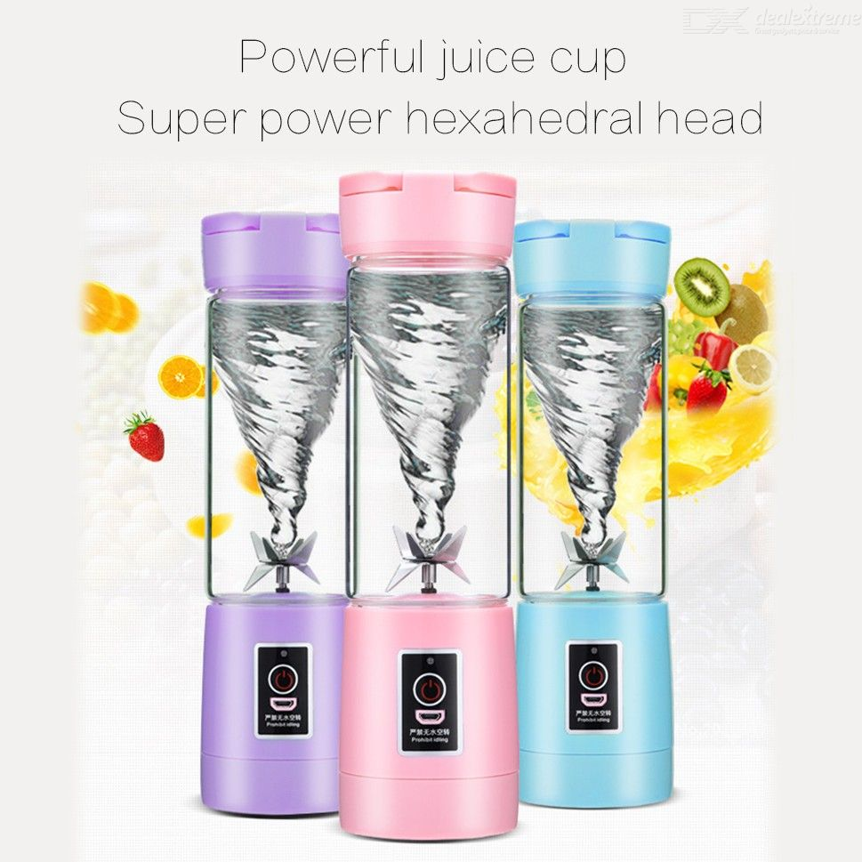 500ml Portable Mini Juicer Machine Smoothie Maker Blender Mixer Kitchen Appliances