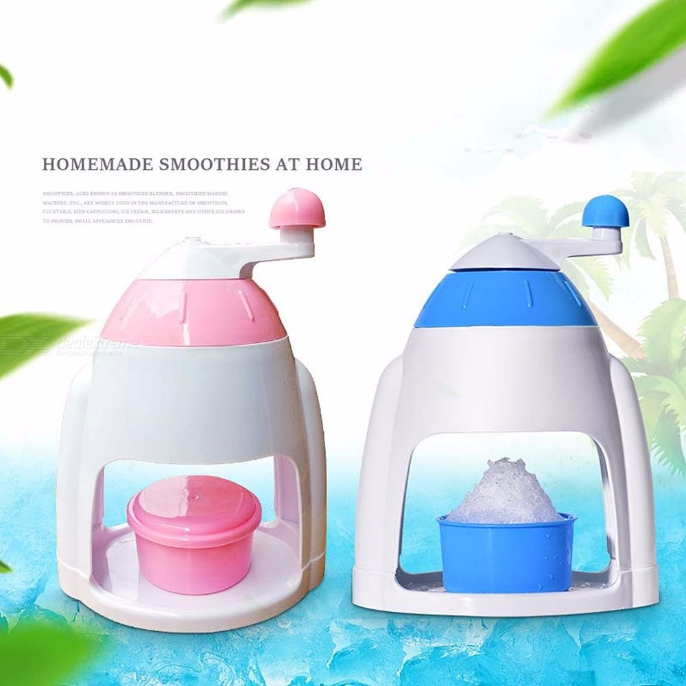 Portable-Hand-Crank-Manual-Ice-Chopper-Smoothies-Machine-Crusher-Snow-Cone-Maker-Kitchen-Tool