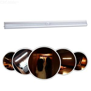 30mm X 363mm 0.88W 40 LM Long LED Under Counter Light USB-charged Infrared Motion Sensor Lighting