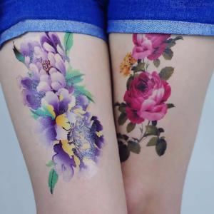 Temporary Tattoos Stickers Personalized Photo Studio Sexy Waterproof Body Art For Women