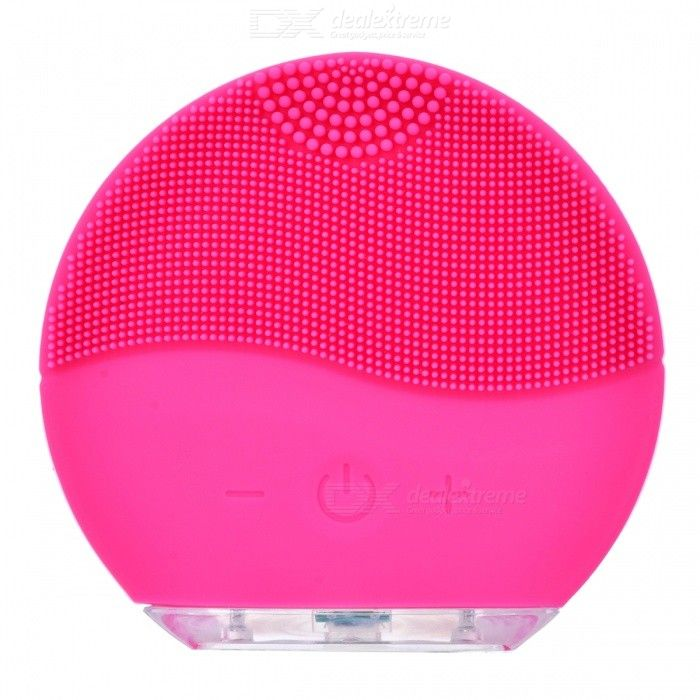 Mini Portable Waterproof Electric Silicone Facial Cleanser Sonic
