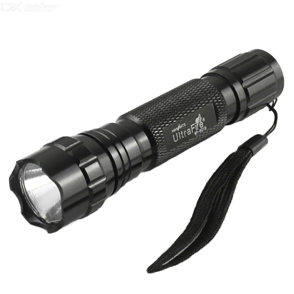 Ultrafire 5W 510 Lumen LED Tactical Flashlight Waterproof Outdoor Torch Lighting With 3 Light Modes