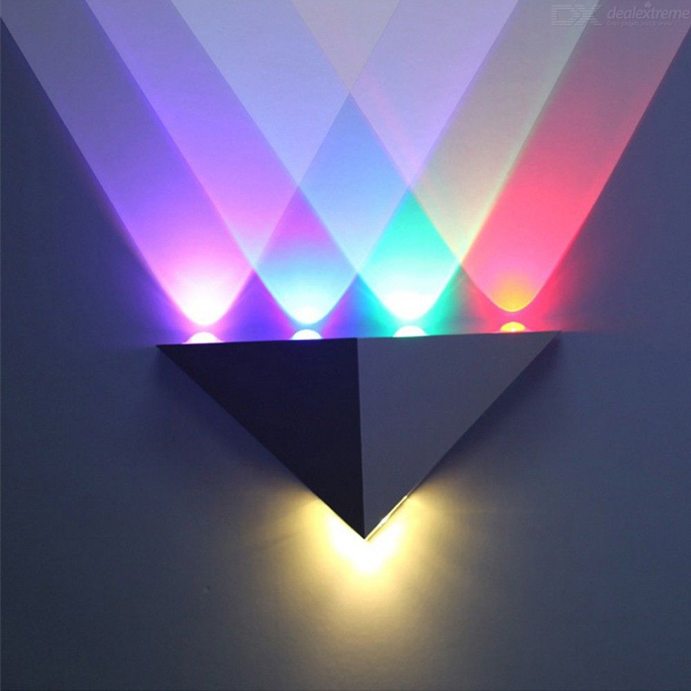 5W-Aluminum-Triangle-LED-Wall-Lamp-High-Power-Modern-Home-Lighting-Indoor-Outdoor-Party-Ball-Disco-Light