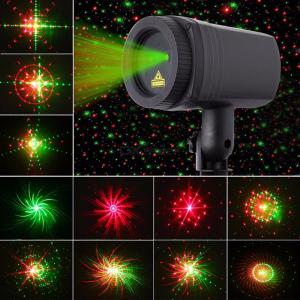 Christmas Laser Projector LED Light Remote Control Stage Lights DIY Spotlight Holiday Decoration Lamp