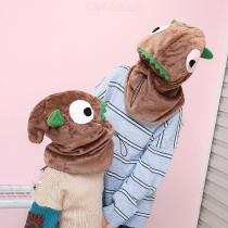 Childrens-Thick-Wool-Headscarf-Animal-Shaped-Winter-Hat-Scarf-Set