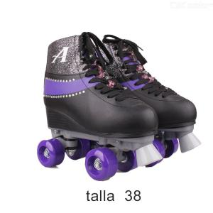 Disney Soy Luna Patines 2.0 Stylish Lace-up Skate Shoes For Girls -Talla 38
