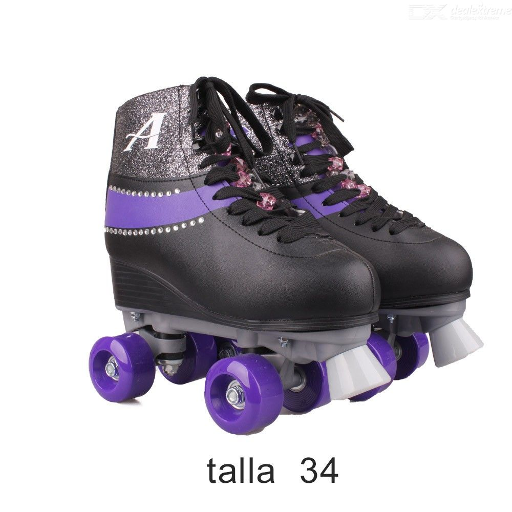 Disney-Soy-Luna-Patines-20-Stylish-Lace-up-Skate-Shoes-For-Girls-Talla-34