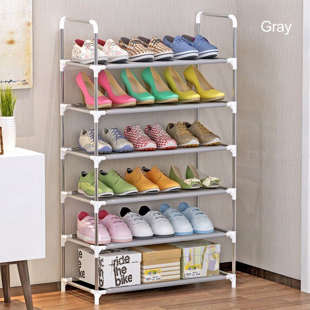 6-Layer-Shoe-Racks-Simple-Household-Dust-proof-Assembly-Shoes-Cabinet-Storage-Holder