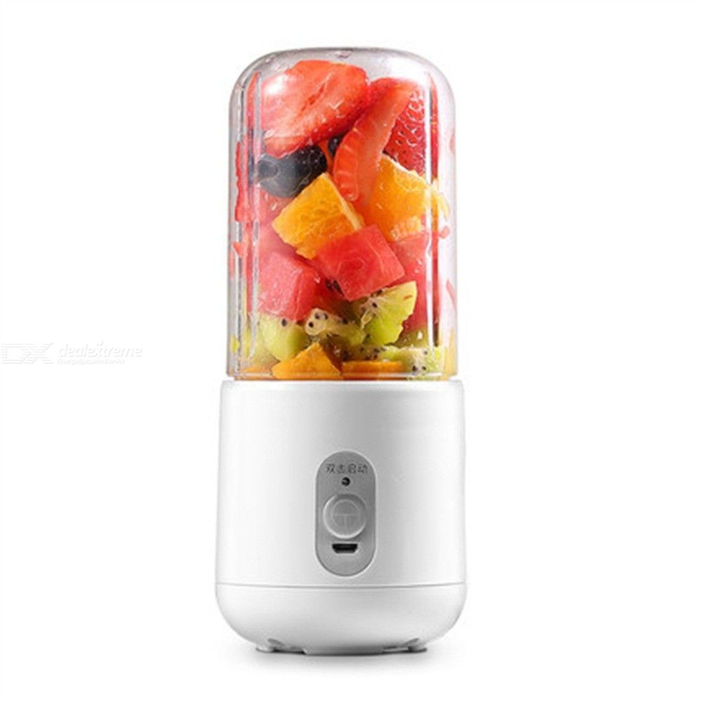 400ml Portable Mini Electric Juicer Cup USB Rechargeable Fruit Mixer Blender Machine