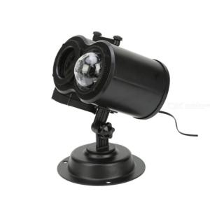 Mini Christmas Projector Lamp With Remote Control W/16PCS Films 1PC Ground Insertion 1PC Adapter