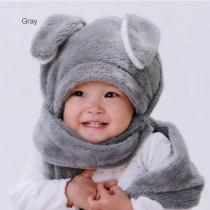 3-in-1-Thick-Wool-Headscarf-Animal-Shaped-Winter-Hat-Scarf-Set