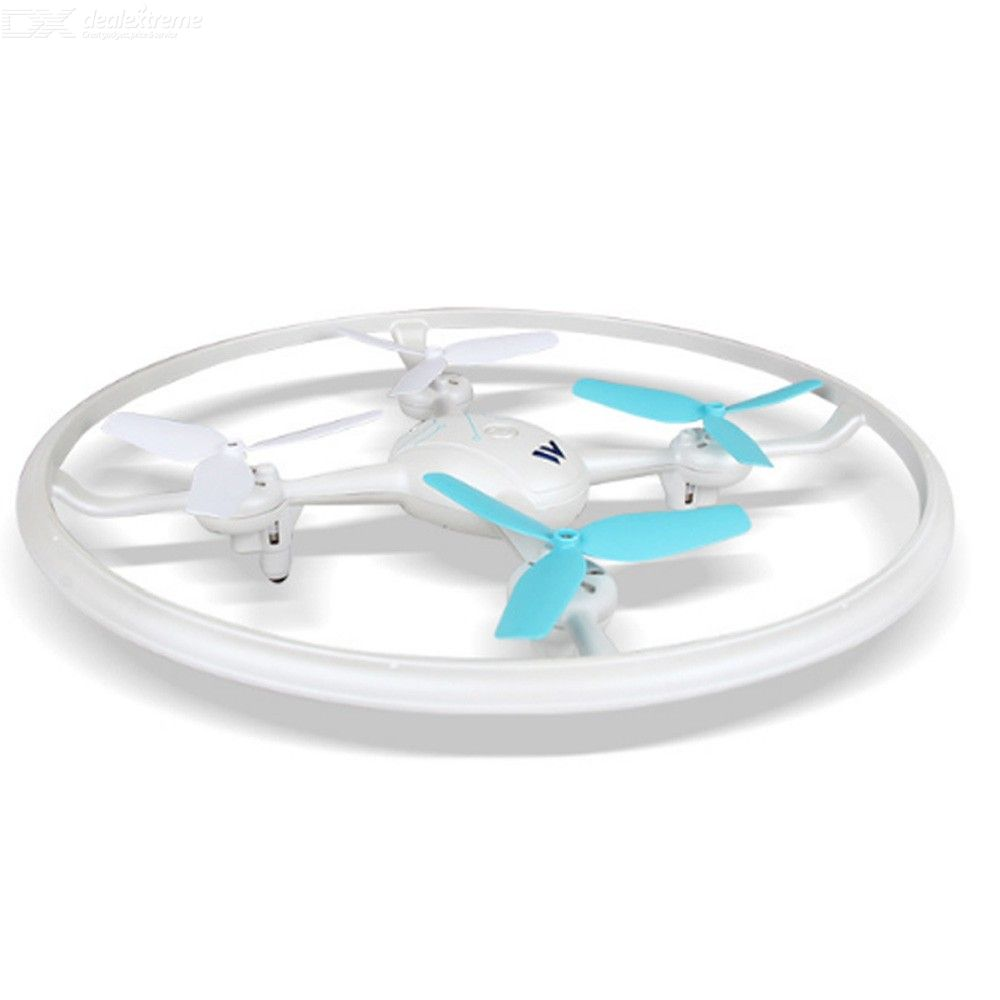 Aircraft-W3 Remote Control Aircraft One-key Return Drone 4-axis Kid Toy With LED Light