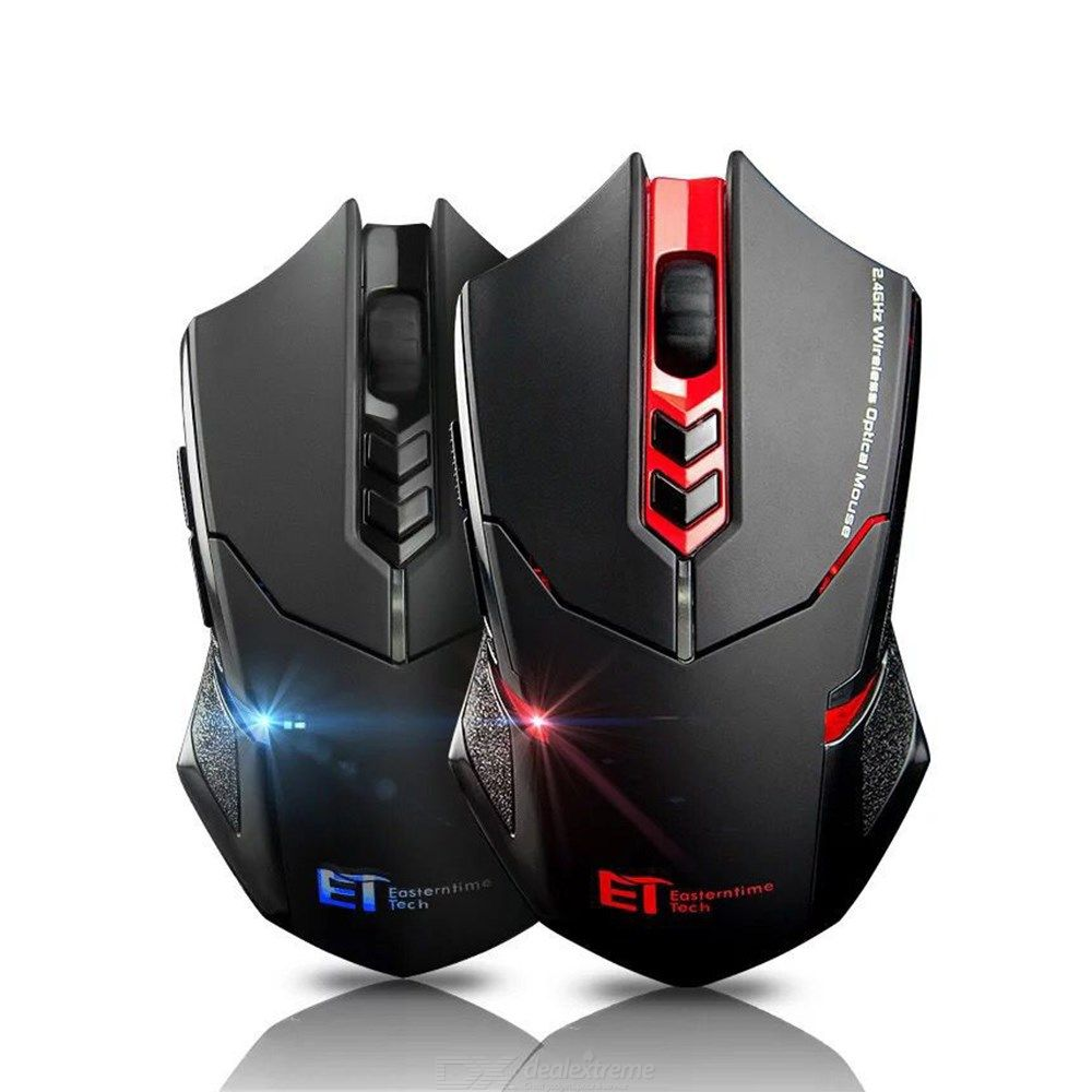 Wireless Gaming Mouse Ergonomic Game Mice 800 To 2400 Five DPI Levels
