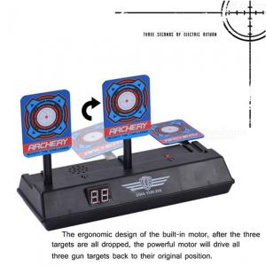 ESAMACT Children Electric Score Bullet Target Toy for Nerf Toys Soft Bullets Blaster