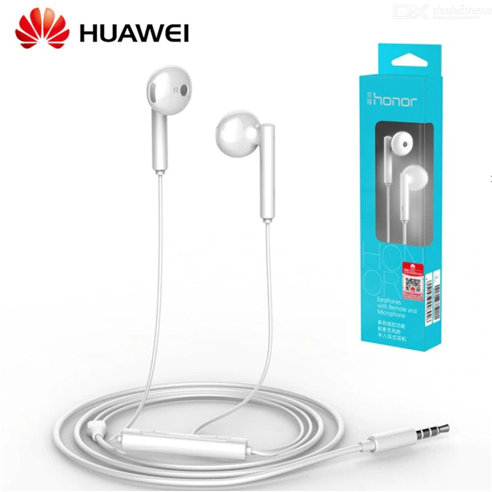 Huawei Honor AM115 Earphones With 3.5mm In Ear Earbuds Headset Wired Controller