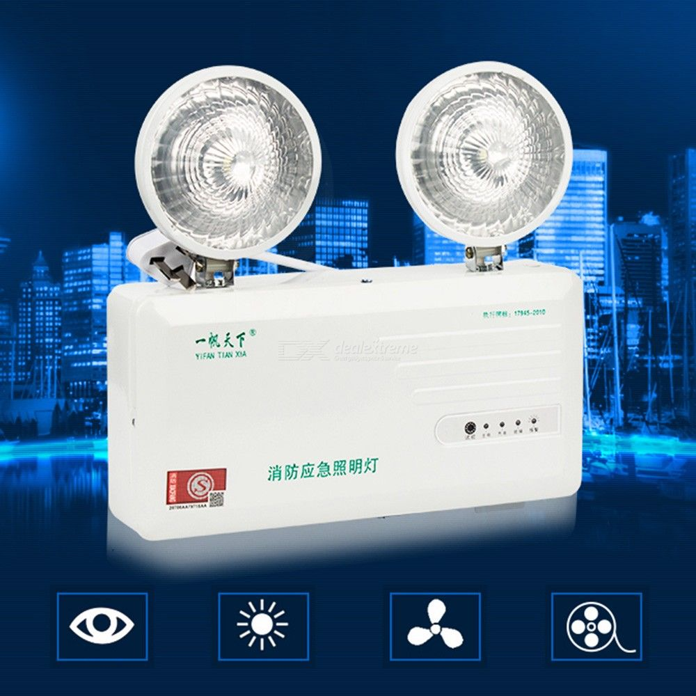 Multi-Function-Double-Head-Fire-Emergency-Lamp-Safety-Exit-LED-Lighting