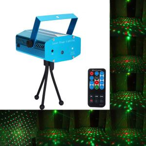 Mini Laser Projector Light Sky Star Spotlight Showers Landscape DJ Disco Xmas Lighting US Plug