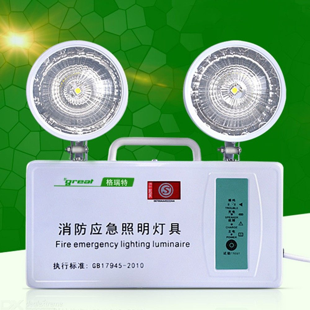 Fire-Emergency-Lamp-Multi-Function-Double-Head-Safety-Exit-LED-Lighting-Engineering-Version
