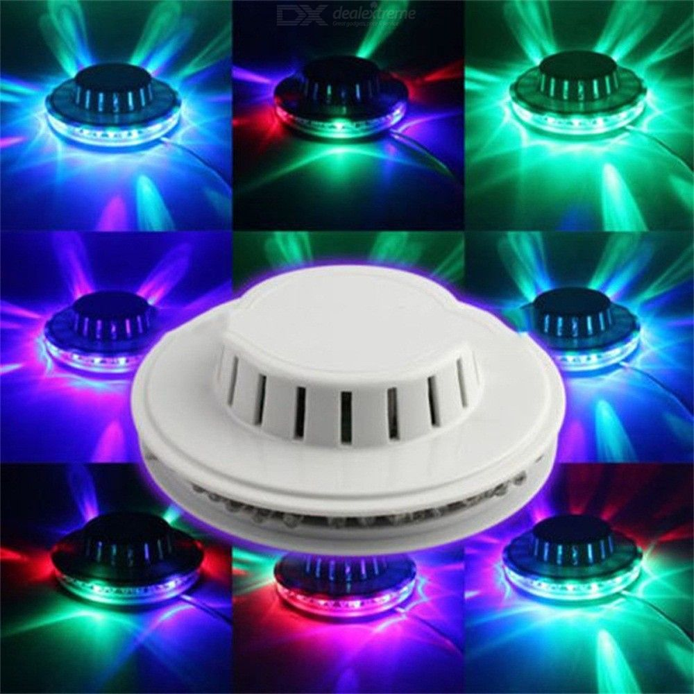 5W-48LEDs-RGB-Rotating-Sunflower-UFO-Stage-Light-For-Bar-Disco-Dancing-Party-DJ-Club-Music-Lighting