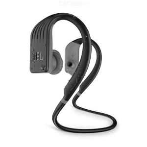 JBL Endurance Jump Waterproof Ear Hook Style Bluetooth Wireless Sports Headset W/1PC Charging Cable, Pouch