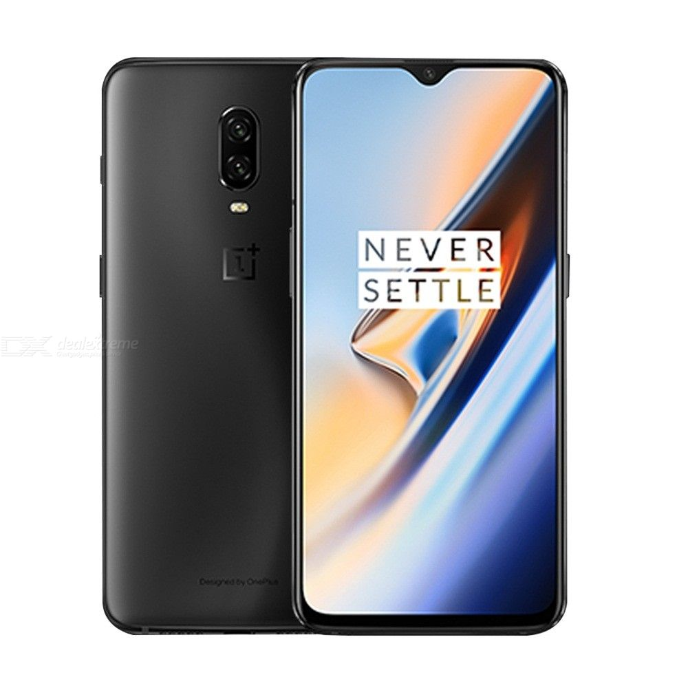 OnePlus 6T 6.4'' A6010 6GB RAM 128GB ROM CN Version Android Smartphone With 3710mAh Battery - Mirror Black