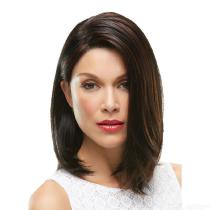 30CM-Womens-Medium-Straight-Wig-150-High-Temperature-Fiber-Hair-Without-Bangs