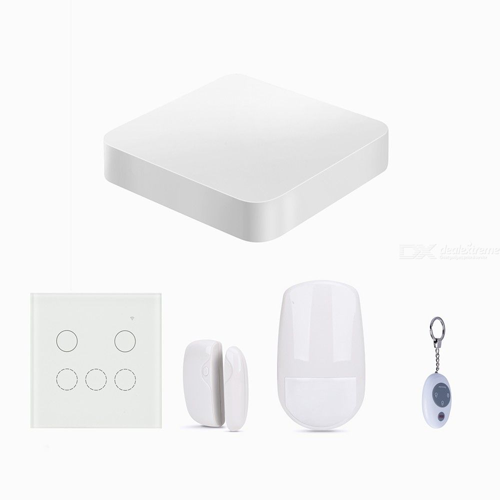5-in-1-WiFi-Home-Alarm-Smart-Wireless-Security-System-Compatible-With-Google-Home-IFTTT