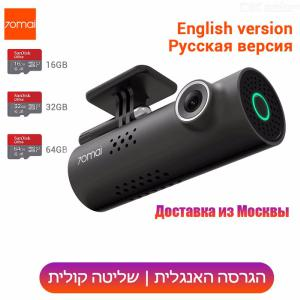 Original 70mai Car DVR Cam 1080HD Night Vision Dash Cam WiFi Car Camera Auto Recorder G-sensor(English Voice Control)