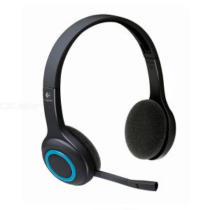 Logitech H600 Over The Head Wireless Headset Gaming Headphones With Mic