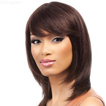 36CM-Natural-Medium-Straight-Wig-Flat-Bang-Synthetic-Hair-For-Women