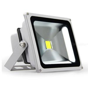 LED Glass Panel Emergency Light Projection Lamp IP65 Waterproof Outdoor Flood Light 10W