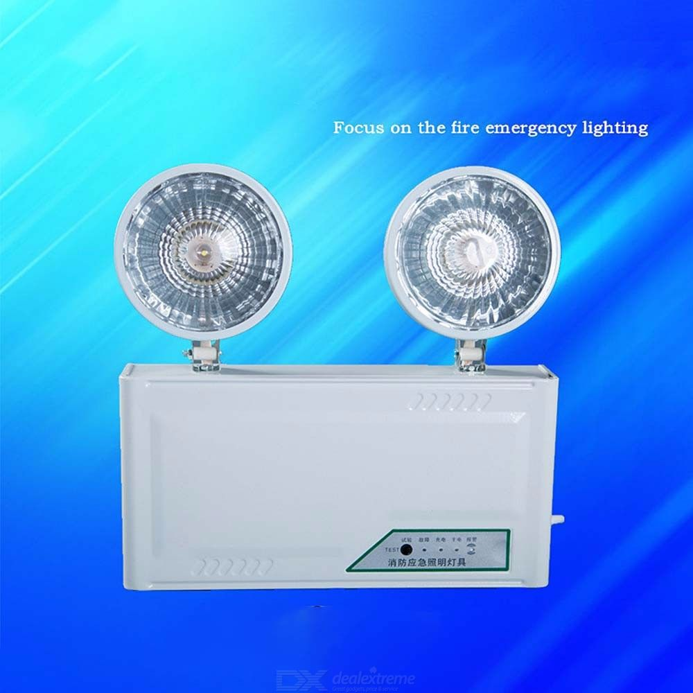 Two-Head-Emergency-Light-4W-Exit-Lighting-With-Up-To-120-Minutes-Working-Time