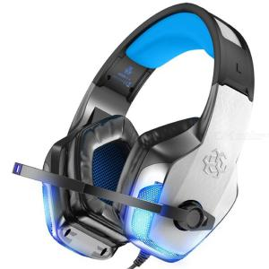 Hunterspider V4 Gaming Headset Noise Cancelling Headphones With Mic LED Light For PS4 Xbox One PC
