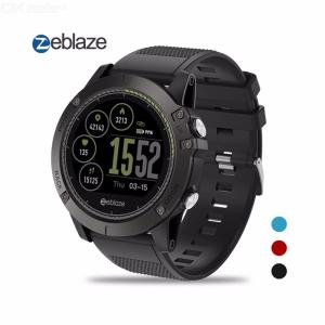 Zeblaze VIBE 3 HR Smartwatch IP67 Waterproof Wearable Device Heart Rate Monitor IPS Color Display Sport Watch