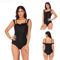 Summer-Plus-Size-Swimming-Suit-One-Piece-Bikinis-For-Women-1902-Black