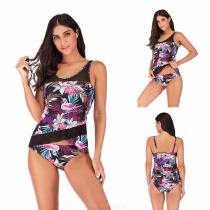 Summer-Two-Piece-Bikinis-Suit-Plus-Size-Mesh-Floral-Print-Patchwork-Swimming-Suit-For-Women