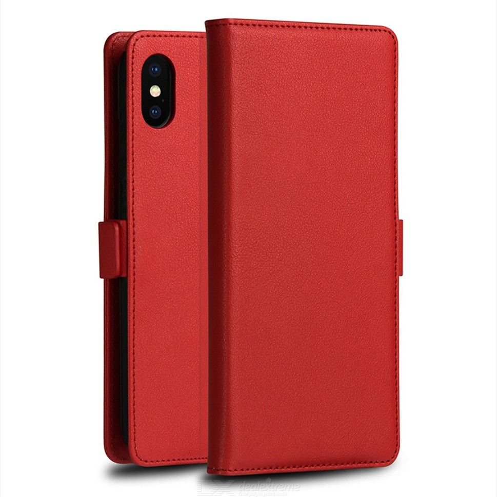 Mobile Phone Flip Cases With Holder For IPHONE XS MAX