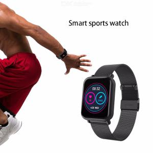 R6 Smartwatch Blood Pressure Heart Rate Fitness Tracker IP67 Waterproof Sport Watches For Android IOS