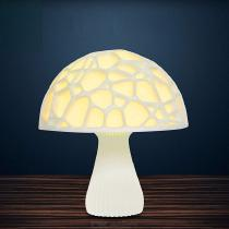 USB-Rechargeable-3D-Mushroom-LED-Light-Remote-Control-Night-Lamp-For-Home-Decoration-20cm