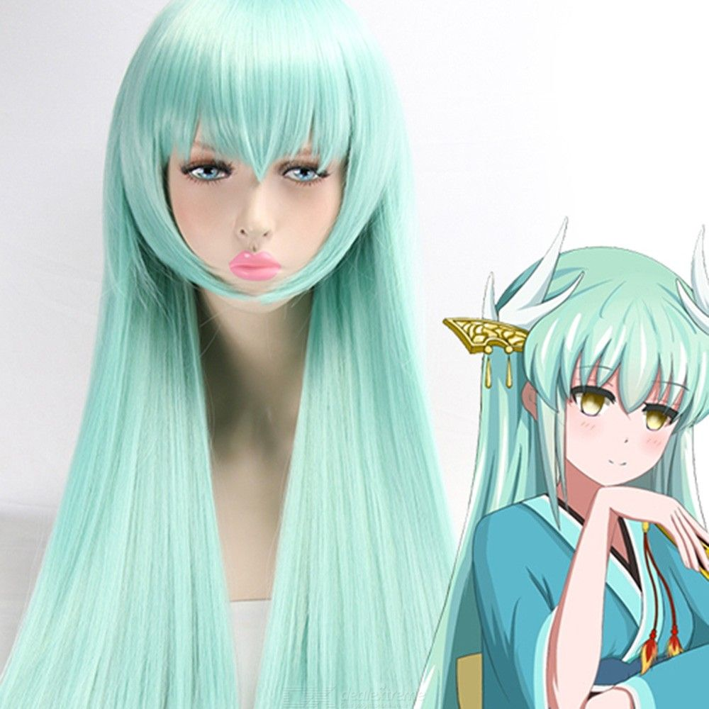 Anime-Long-Straight-Synthetic-Hair-Cosplay-Role-Play-Costume-Wigs